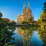 Sagrada Familia in Barcelona, Spain Royalty Free Stock Image