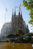 Sagrada Familia in Barcelona Royalty Free Stock Image