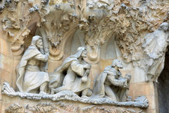Sagrada Familia, Barcelona, Spain Stock Photo