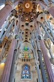 Sagrada Familia, Barcelona, Spain, Europe Royalty Free Stock Photography