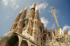 Sagrada Familia in barcelona, spain Stock Photo