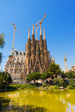 Sagrada Familia - Barcelona Spain Stock Image