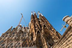 Sagrada Familia - Barcelona Spain Royalty Free Stock Images