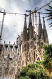 The Sagrada Familia in Barcelona, Spain Stock Photos