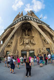 Sagrada Familia, Barcelona, Spain Royalty Free Stock Images