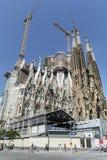 Sagrada Familia in Barcelona,Spain Stock Images