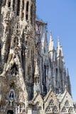 Sagrada Familia in Barcelona,Spain Stock Photography