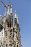 Sagrada Familia in Barcelona,Spain Royalty Free Stock Image
