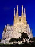 Sagrada Familia in Barcelona, Spain. Stock Images