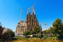 Sagrada Familia - Barcelona Spain Stock Image
