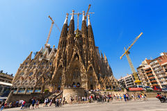 Sagrada Familia - Barcelona Spain Royalty Free Stock Photography
