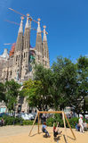 Sagrada Familia Royalty Free Stock Photos