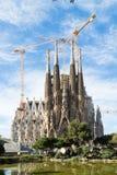 Sagrada Familia in Barcelona, Spain Stock Photo