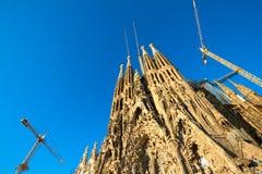 Sagrada Familia in Barcelona Royalty Free Stock Photo