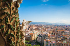 Sagrada Familia in Barcelona Royalty Free Stock Images