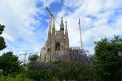 Sagrada Familia, Barcelona, Spain Stock Image