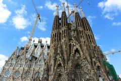 Sagrada Familia, Barcelona, Spain Royalty Free Stock Photo