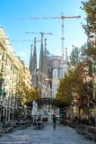 Sagrada Familia, Barcelona Spanien Lizenzfreie Stockbilder