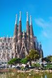 Sagrada Familia in Barcelona, Spanien lizenzfreie stockfotos
