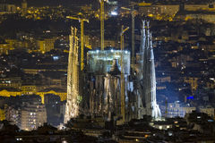 Sagrada Familia Barcelona Spanje stock foto