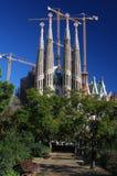 The Sagrada Familia in Barcelona Royalty Free Stock Image
