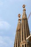 Sagrada Familia Barcelone image libre de droits