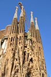 Sagrada Familia, Barcelone Photos libres de droits