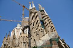 Sagrada Familia, Barcelone Photographie stock