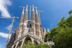 Sagrada Familia, Barcelone Photo stock
