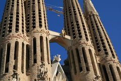 Sagrada Familia, Barcelone Photographie stock libre de droits