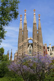 Sagrada Familia (Barcelone) Photographie stock