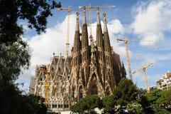 Sagrada Familia Barselona. Cahedral Sagrada Familia Barselona, Spain Royalty Free Stock Images