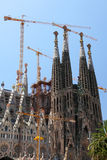 Sagrada Familia, Barselona, Spain Stock Photo