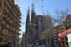 Sagrada Familia, Barselona, Spain Foto de Stock