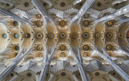 Sagrada Familia. This is  the Sagrada Familia Basilic by Gaudi,  in Barcelona Stock Photography