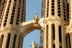Sagrada Familia Basilica  Stock Photo