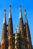 Sagrada Familia Basilica Stock Images
