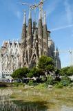 Sagrada Familia Basilica - Barcelona - Spain royalty free stock photography