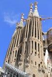 Sagrada Familia basilica Stock Images