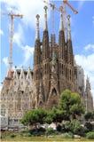 Sagrada Familia basilica Royalty Free Stock Image
