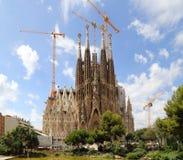 Sagrada Familia basilica Royalty Free Stock Photo