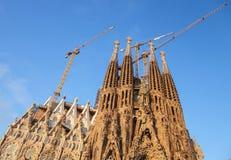 Sagrada Familia, a catedral projetou por Antoni Gaudi Foto de Stock Royalty Free