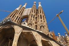 Sagrada Familia, a catedral projetou por Antoni Gaudi Fotografia de Stock Royalty Free