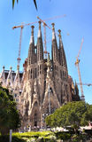 Sagrada Familia Cathedral Royalty Free Stock Images
