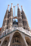 Sagrada Familia Cathedral in Barcelona Royalty Free Stock Photo
