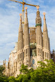 Sagrada Familia cathedral Stock Image