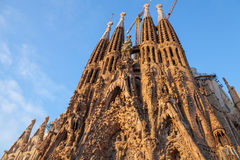 Sagrada Familia, the cathedral designed by Antoni Gaudi Stock Photo