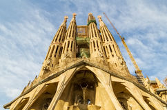 Sagrada Familia cathedral Stock Photography