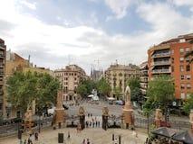 Sagrada Familia cathedral by Gaudi, Barcelona, Spain. Royalty Free Stock Image