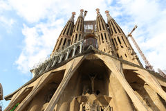 Sagrada Familia Cathedral - Spain Royalty Free Stock Images